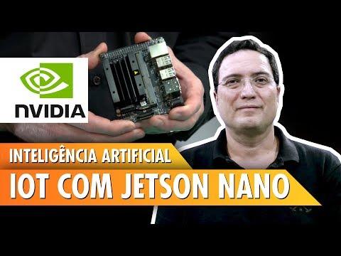 Inteligência Artificial IOT com Jetson Nano