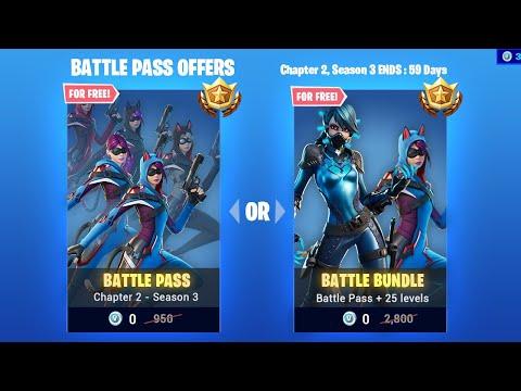 Chapter 2 Season 3 Battle Pass FREE In Fortnite