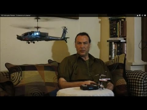 Syma RC Helicopter Review - 3 channel vs 4 channel