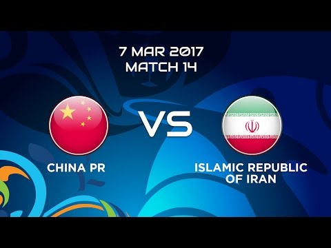 #AFCBeachSoccer 2017 - M14 China P.R. vs. Islamic Republic of Iran
