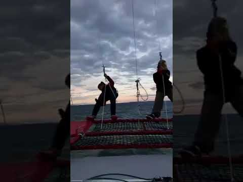 Test de voile sur le Sailing More