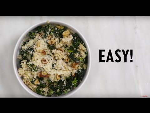 How to Make Kale Caesar Quinoa and Chicken Salad   Cooking Light