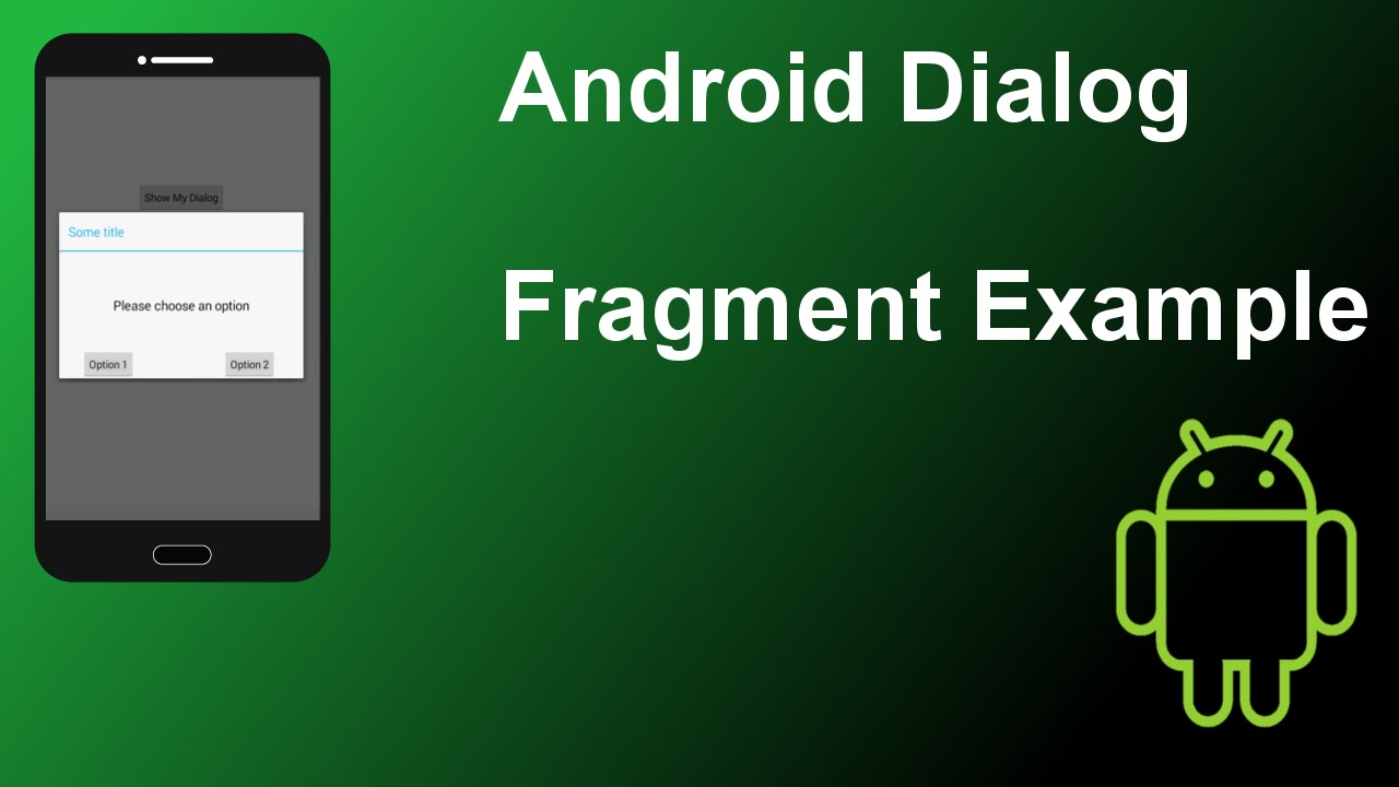 how to make dialog persist android