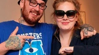 Adele muestra su nuevo tatuaje en Facebook