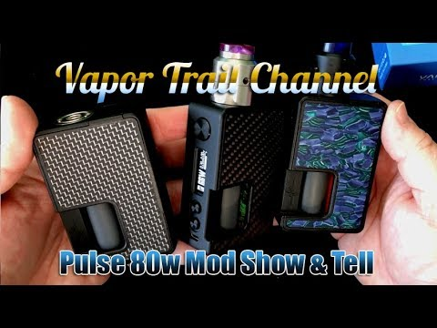 Pulse 80w Show & Tell - Rundown Of Features - Vandy Chip