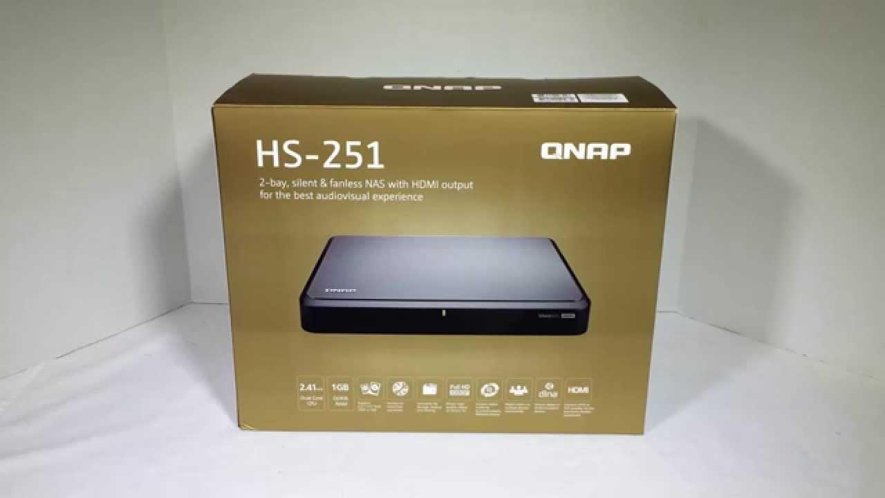 Qnap HS-251 2-Bay Silent & Fanless NAS Review @Qnap_nas