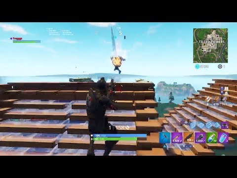 Smooth and quick building. Fortnite BR (Console)
