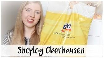 SHOPLOG CENTRO OBERHAUSEN (DM Drogist, Douglas, Parfumerie Pieper, kerstmarkt)🎄✨ / Vlogmas #6