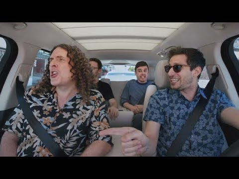 "The Apple TV app — Carpool Karaoke: The Series — ""Weird Al"" Yankovic and The Lonely Island — Preview"