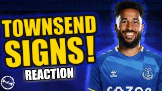 ANDROS TOWNSEND SIGNS FOR EVERTON! - REACTION!