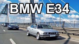 BMW E34 bemutató - Gyűjtői darab, mintha új lenne