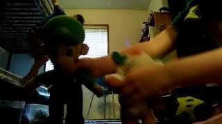 Luigi's Mansion time to dance something strange yeah