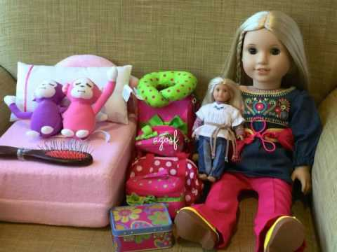 How To Travel With Your American Girl Doll ~ Two Night Hotel Vacation Stay! HD