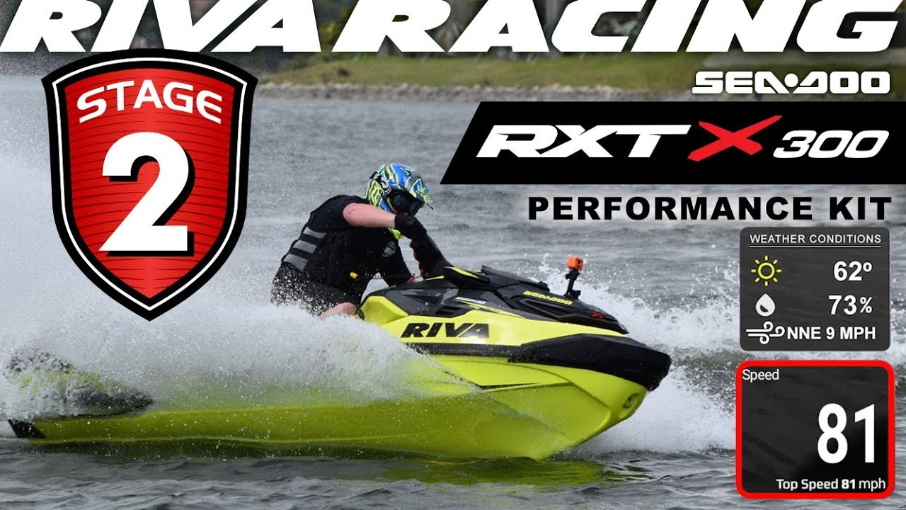 RIVA Sea-Doo RXT-X 300/GTX LTD 300 2018 Stage 2 Kit