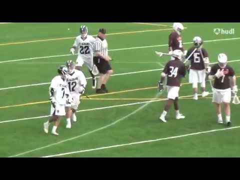 Michael Asuncion - St Albans School, Class of 2018 - Lacrosse Highlights (Sophomore Year)