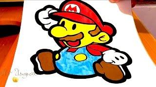 How to Draw Super Mario EASY   #MrUsegoodART