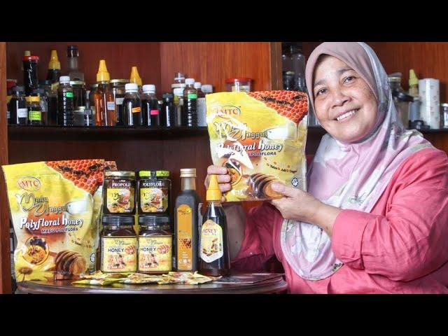 Rohaya berjaya dalam dunia perniagaan madu