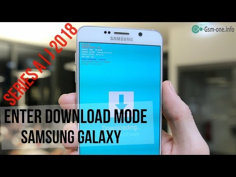 How To Enter Download Mode Samsung Galaxy A | J Series 2018