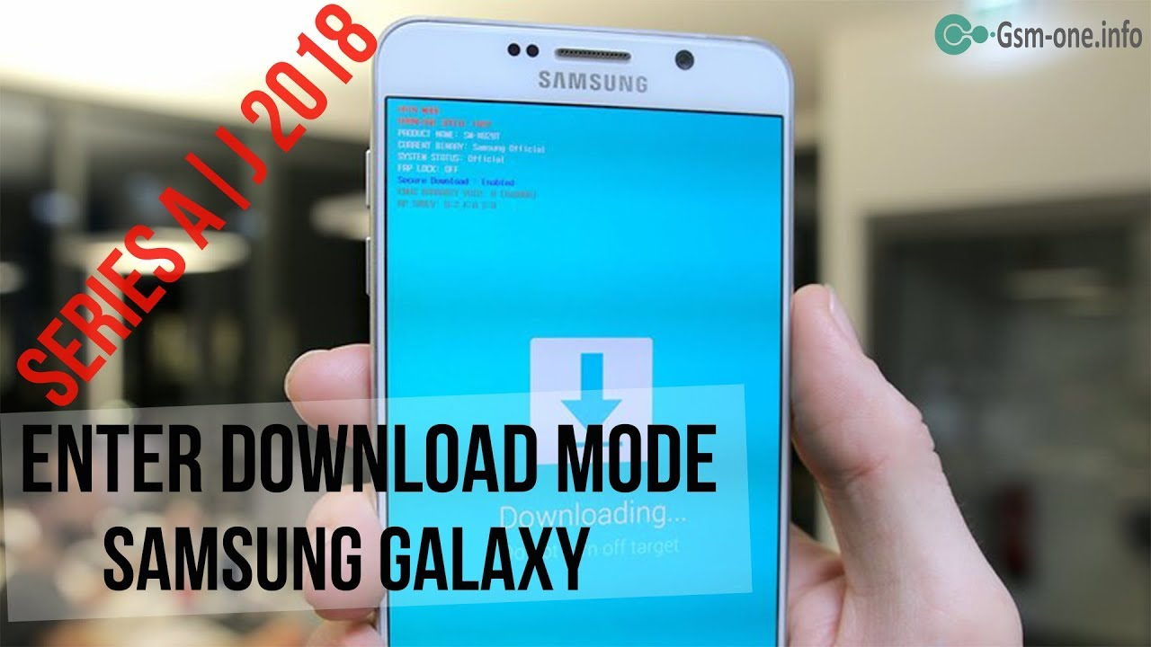 Samsung A600f Download Mode