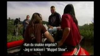 "Duane Loken in bloopers clip from ""Gylne Tider"""