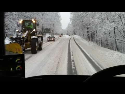 A Bus Driver's Everyday Routine Route In Helsinki - Finland