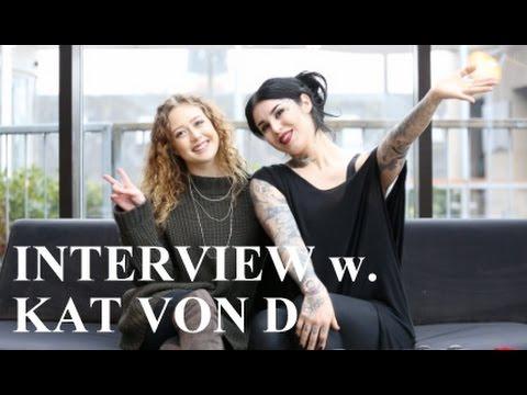 Interview med Kat Von D! (English)