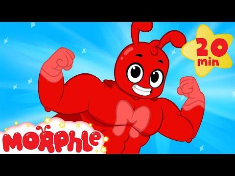My Magic Super Hero Suit Morphle - Funny Superheroes kid videos  (+ car truck and dinosaur cartoons)