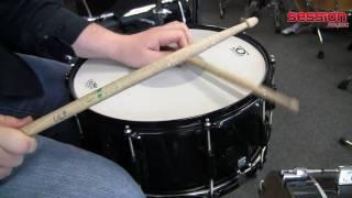 Drumcraft Serie 6 Snare 14 x 6,5 - Pitch Black