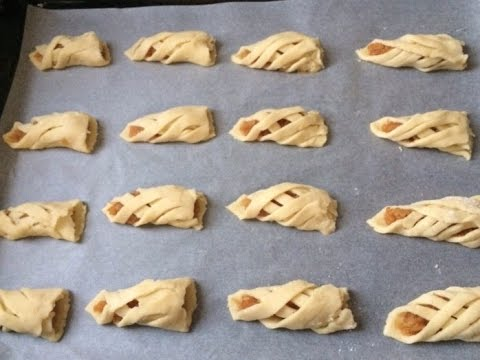 Печенье с яблоками / How to make Apple cookies / Elma kurabiyesi