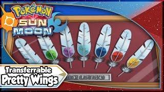 Pokemon Sun and Moon Demo - Transferrable PRETTY WINGS X 10! [10/19/16]