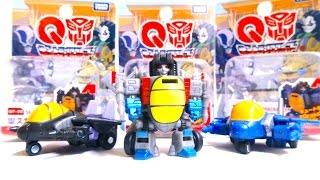 【キュートランスフォーマー】 スタースクリーム、サンダークラッカー、スカイワープ レビュー Q Transformers Starscream/Thundercracker/Skywarp
