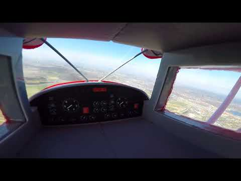 E-Flite Maule M7 super cruise high low and range + crash landing