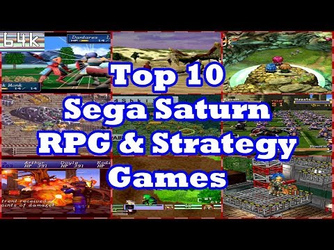 Top 10 Sega Saturn RPG & Strategy Games
