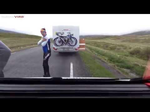 WOW Cyclothon 2015 Örninn Trek Time lapse around Iceland