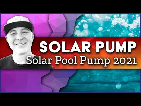 Solar Powered Pool Pump to Filter Your Swimming Pool