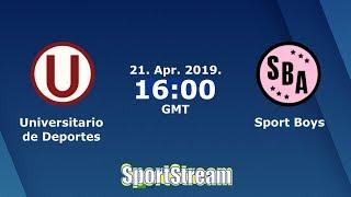 ⚽Universitario de Deportes vs Sport Boys⚽ Liga 1 Apertura Peru Cup 2019 | 😱SIMULACIÓN🎮