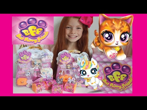 BEST FURRY FRIENDS BFF TOY UNBOXING!   Little Red World