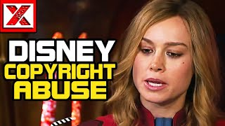 Disney & Copyright Abuse: Censoring Brie Larson Captain Marvel Videos Exposed Their Weakness LOL
