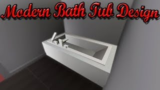 Roblox Studio | Bathroom Build (Ep1): Bath Tub
