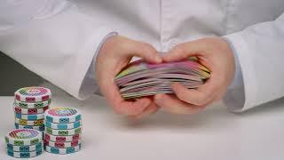 TEST 3D gedrucktes Poker Set