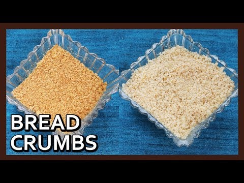 how-to-make-perfect-bread-crumbs-at-home- -breadcrumbs-without-oven- -kitchen-tip-by-healthy-kadai