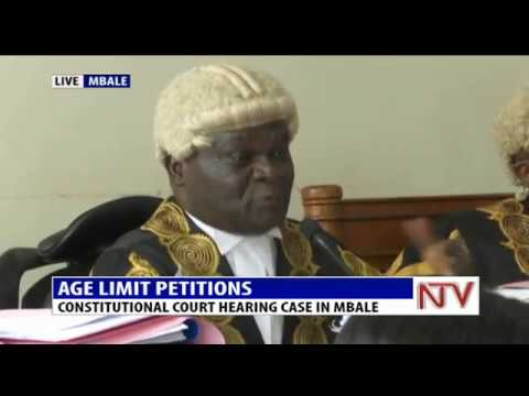 AGE LIMIT PETITIONS: CONSTITUTIONAL COURT HEARING CASE IN MBALE 1
