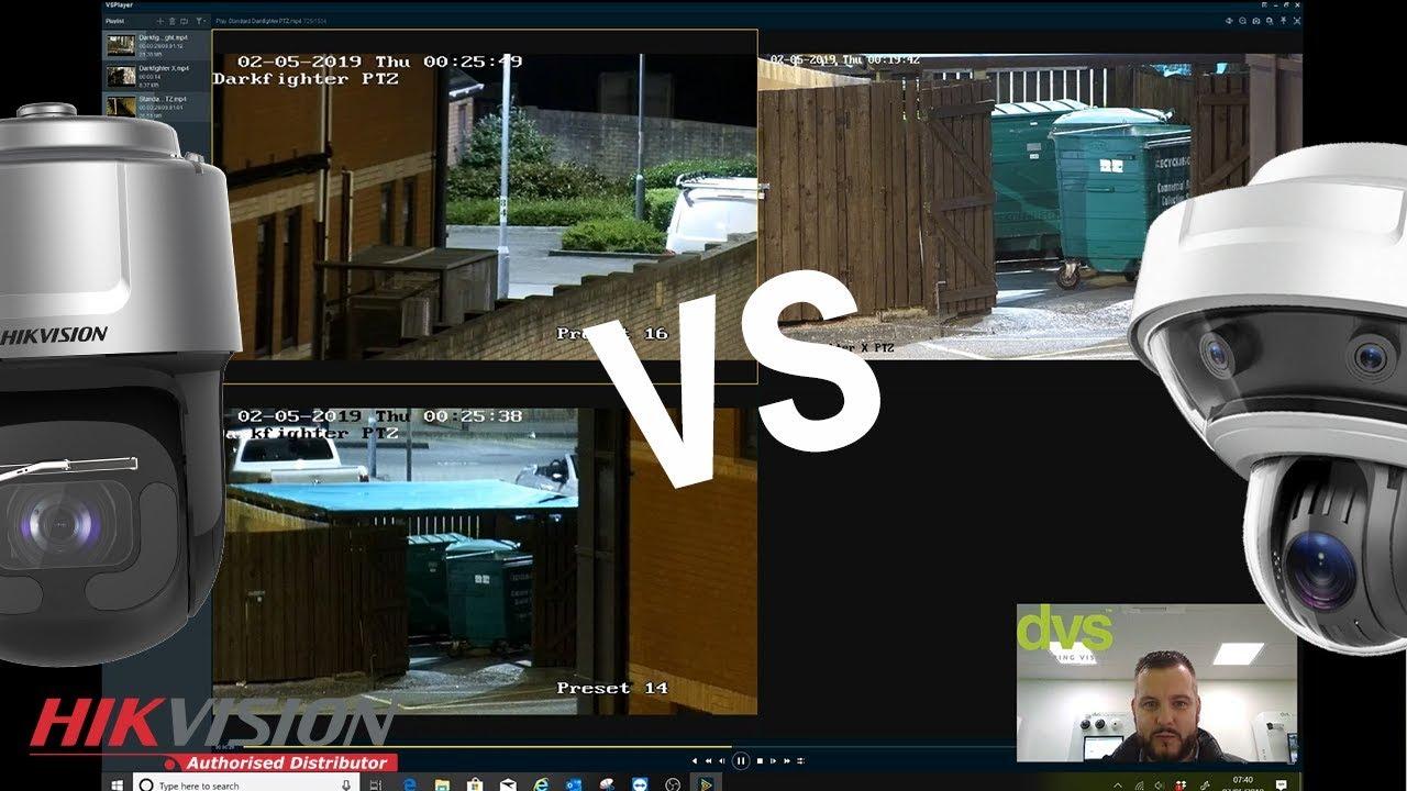 Hikvision NEW 4MP DarkfighterX vs Darkfighter