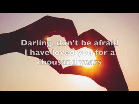 A Thousand Years- Christina Perri cover (with lyrics)