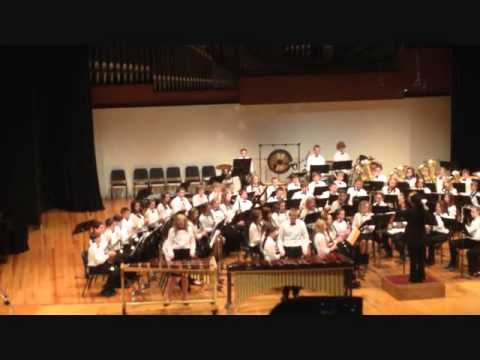 Otte Blair Middle School Eighth Grade Concert Band March 2014