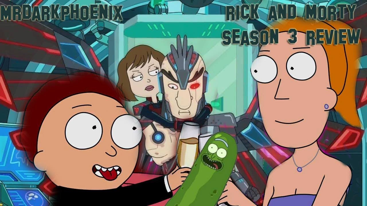 rick and morty season 3 kickassreaction