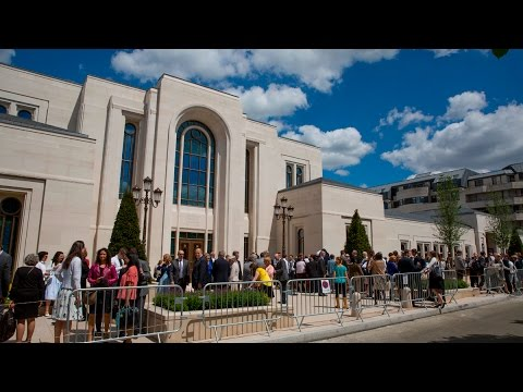 Paris France Temple Is Dedicated