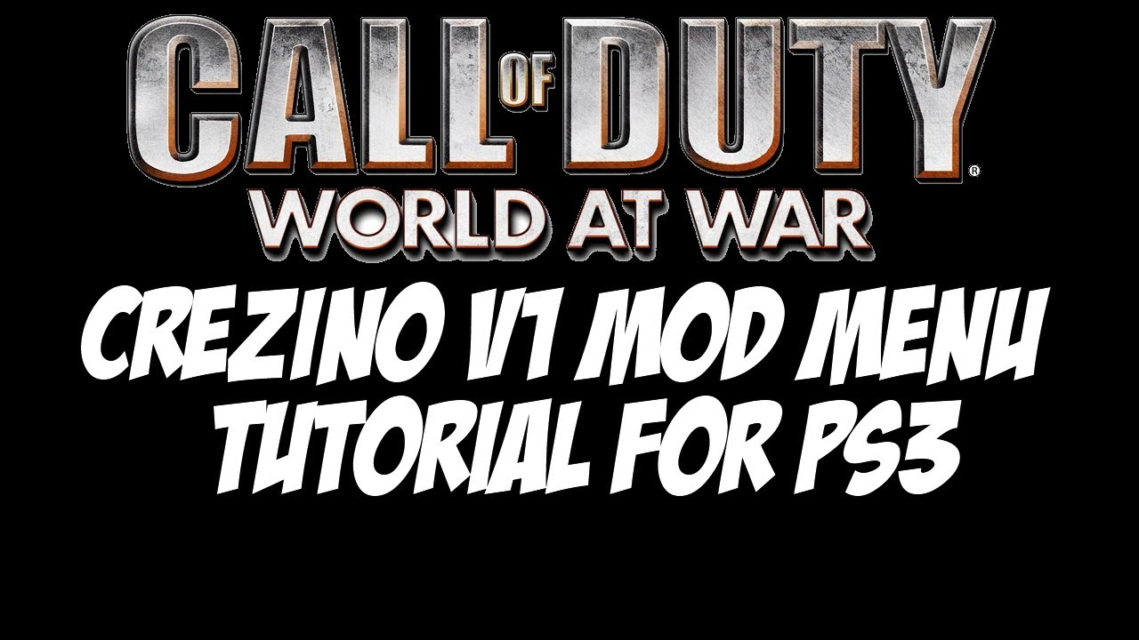 Call of Duty: World at War - Mods for PS3 (TUTORIAL)