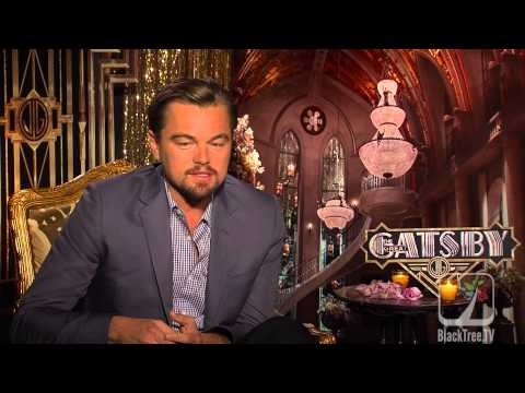 Leonardo DiCaprio talks about The Great Gatsby and compares Jazz to Hip Hop