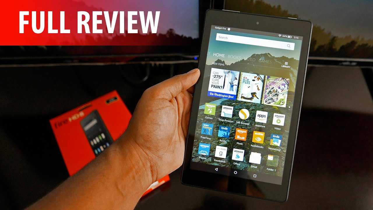 All New Fire HD 8 Tablet Review (2016) - Amazon Strikes Again!? - YouTube